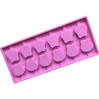 Lollipop Silicone Mould Tray LMH193