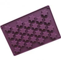 25 Cavities 3D Stars Silicone Mould Tray LMH199