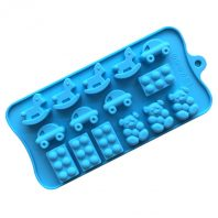 15 Cavities Cars Bears Silicone Mould Tray LMH612