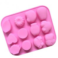 Multi Cartoons Silicone Mould Tray LMH622