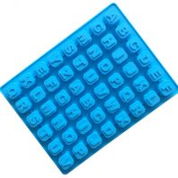 48 Cavities Letters Silicone Mould Tray LMH630