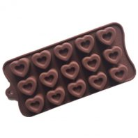 15 Cavities Love Hearts Silicone Mould Tray LMH650