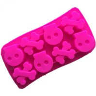 Skulls Silicone Mould Tray LMH674