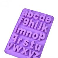 26 Grid Letters Silicone Mould Tray LMH680