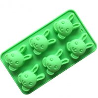 6 Rabbits Silicone Mould Tray LMH716