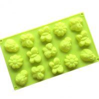 Flowers Insects Silicone Mould Tray LMH718
