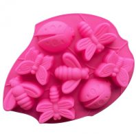 Flowers Insects Silicone Mould Tray LMH724