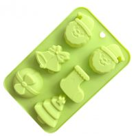 Christmas Silicone Mould Tray LMH732