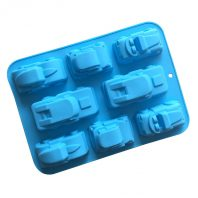 6 Cavities Cars Silicone Mould Tray LMH735
