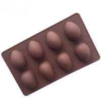 8 Cavities Eggs Silicone Mould Tray LMH738