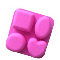 4 Different Shape Soap Moulds LMH756