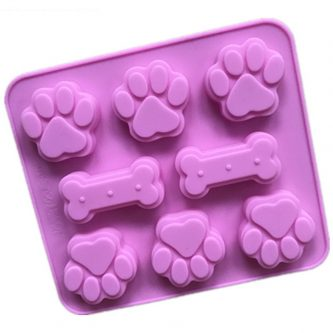 Bones & Paws Silicone Mould Tray LMH783