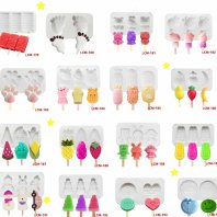 Ice-Cream-Silicone-Mold-with-50pcs-Sticks-Food-Grade-Popsicle-Maker-0